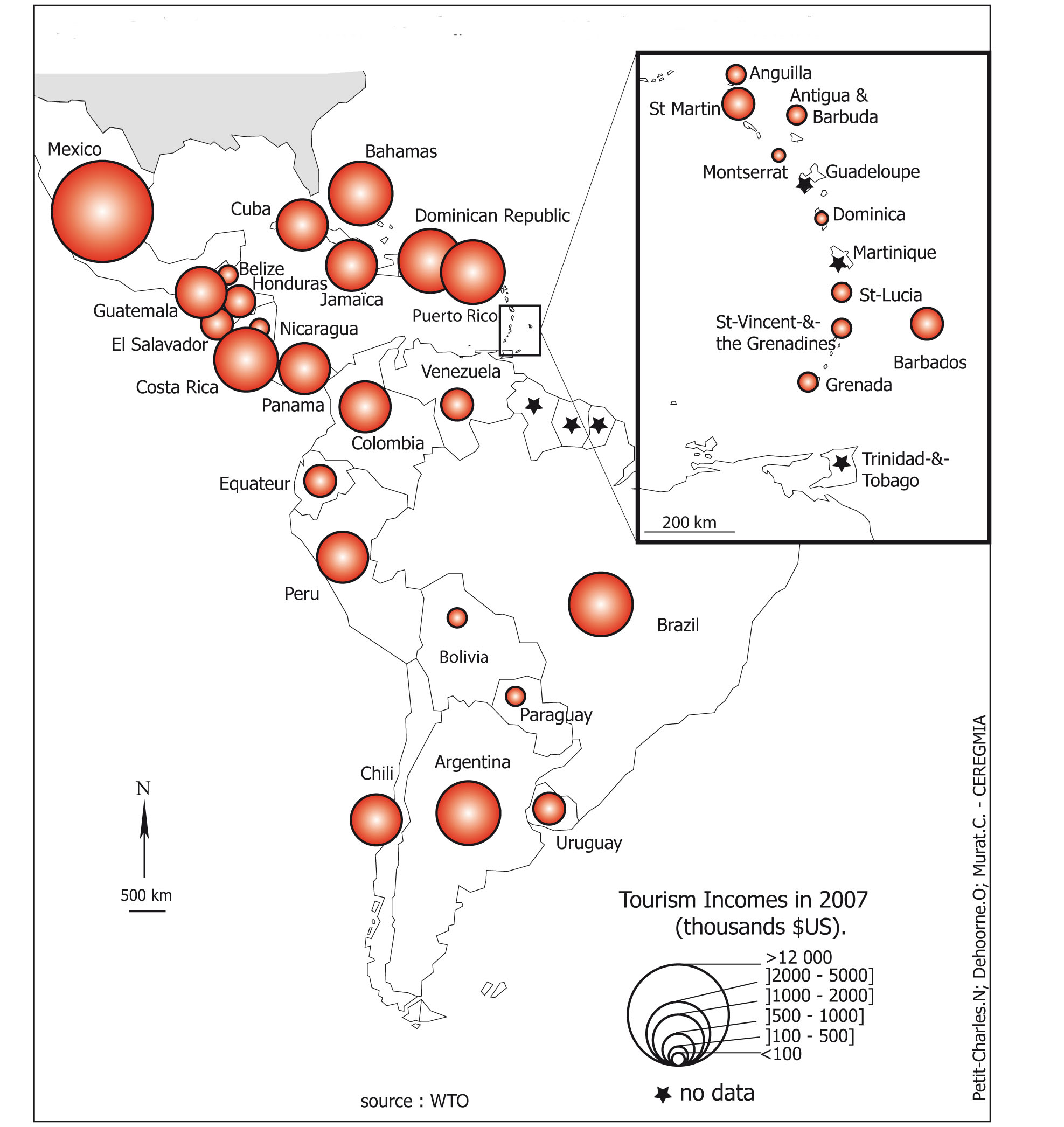 International tourism in the caribbean area current status and url httpjournalsopeneditionetudescaribeennesdocannexeimage4713img 4g sciox Images