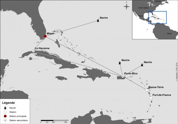 Ouragans et submersions dans les Antilles françaises (xviie