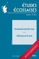 Études écossaises n° 19 / 2017