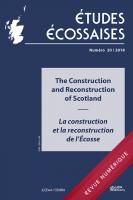 Études écossaises n° 20 / 2018