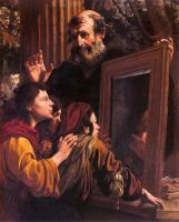 Socrate insegna ai giovani la conoscenza di sè