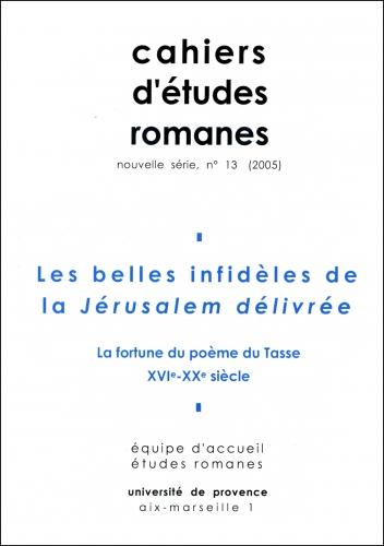13 2005 Les Belles Infidèles De La Jérusalem Délivrée