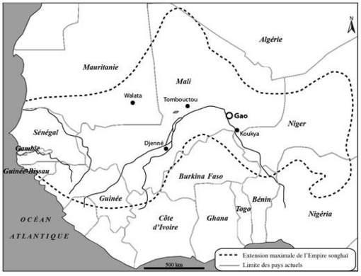 Carte De Lafrique Centrale Pdf.L Economie Rurale Dans Le Bilad Al Sudan Occidental Xve