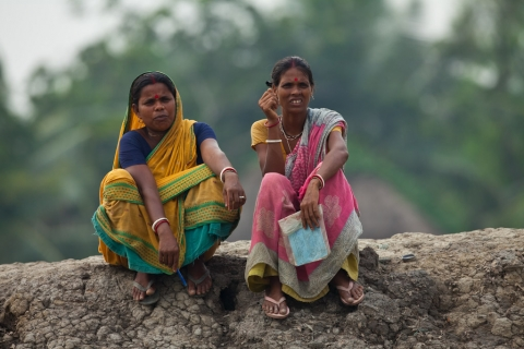 Figure 2. Women looking after their seeds - India -