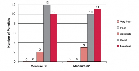 Figure 3. Panelists' assessment of CIR's performance in weighing arguments and evidence in favor of the initiative