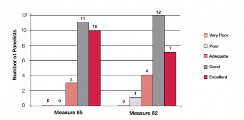 Figure 4. Panelists' assessment of CIR's performance in weighing arguments and evidence opposing the initiative