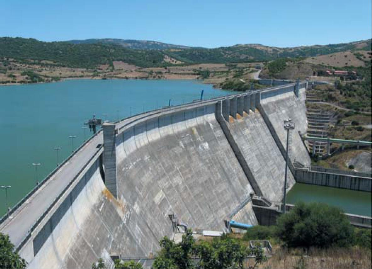 How are artificial dams 3