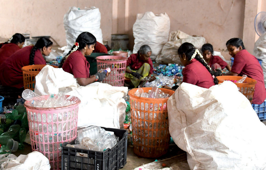 The informal waste sector: a solution to the recycling