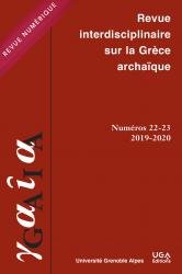 Couverture Gaia, 22-23 | 2019-2020