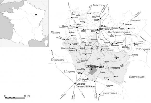 Loutillage Du Site De La Côte à Contrexéville Vosges
