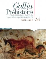 Couverture Gallia Prehistoire 56