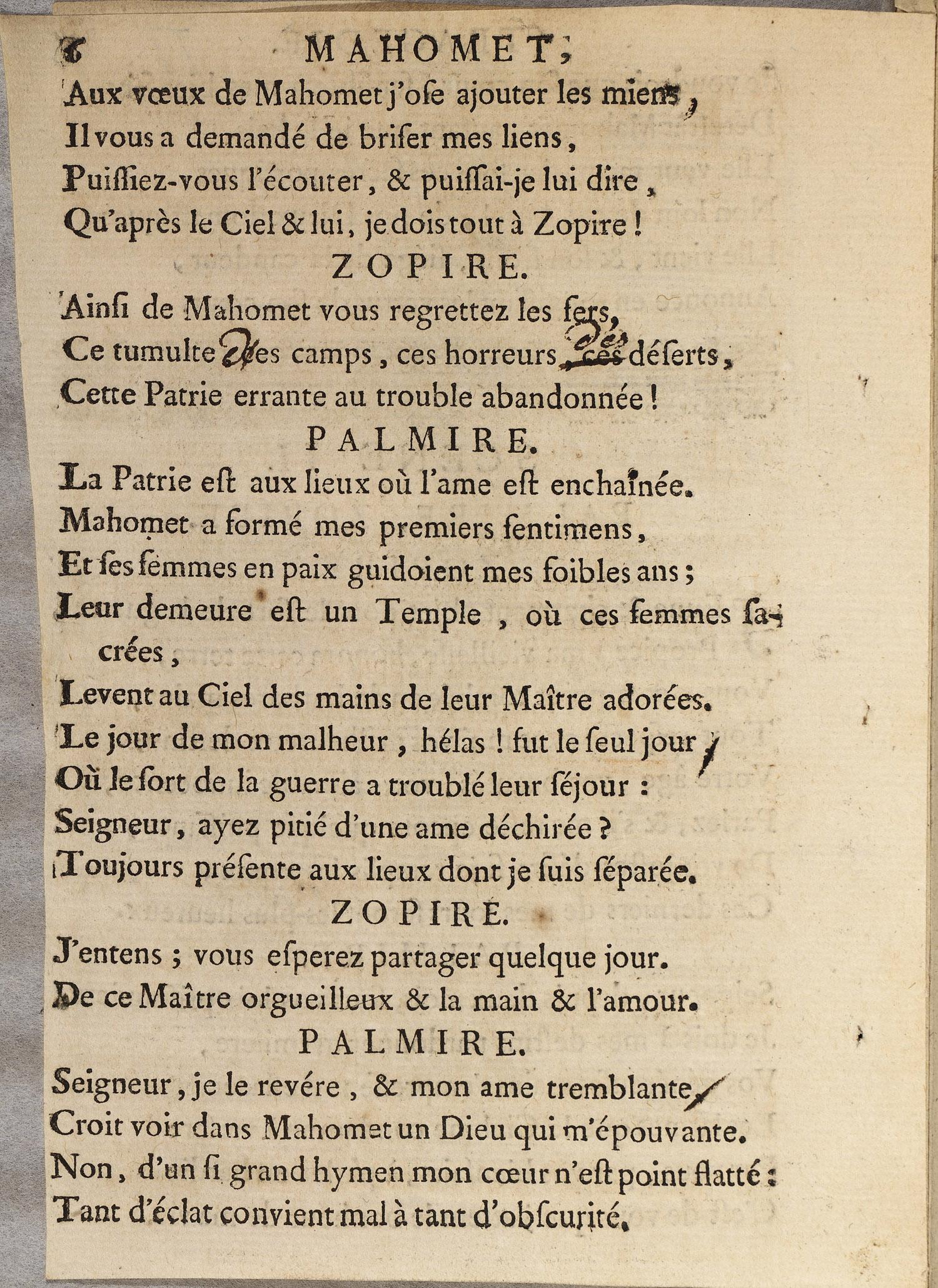 Voltaire Et Le Don Du Manuscrit