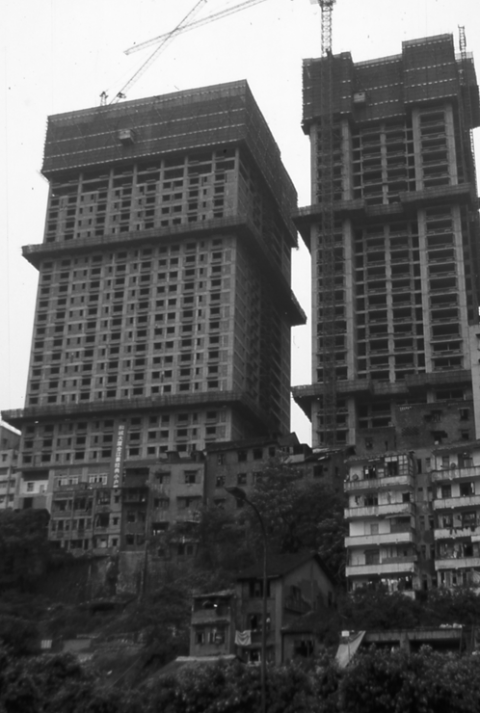 Photo 2 : Immeubles en construction à proximité du Yangzi