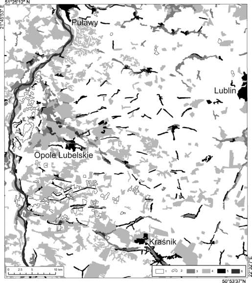 Present And Past Sedimentation Rates In Loess Areas Of The