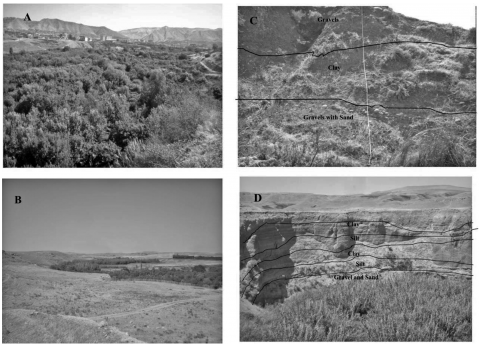 Fig. 7 – Photographs of the Dohuk valley. Fig. 7 – Photographies de la vallée du Dohuk.