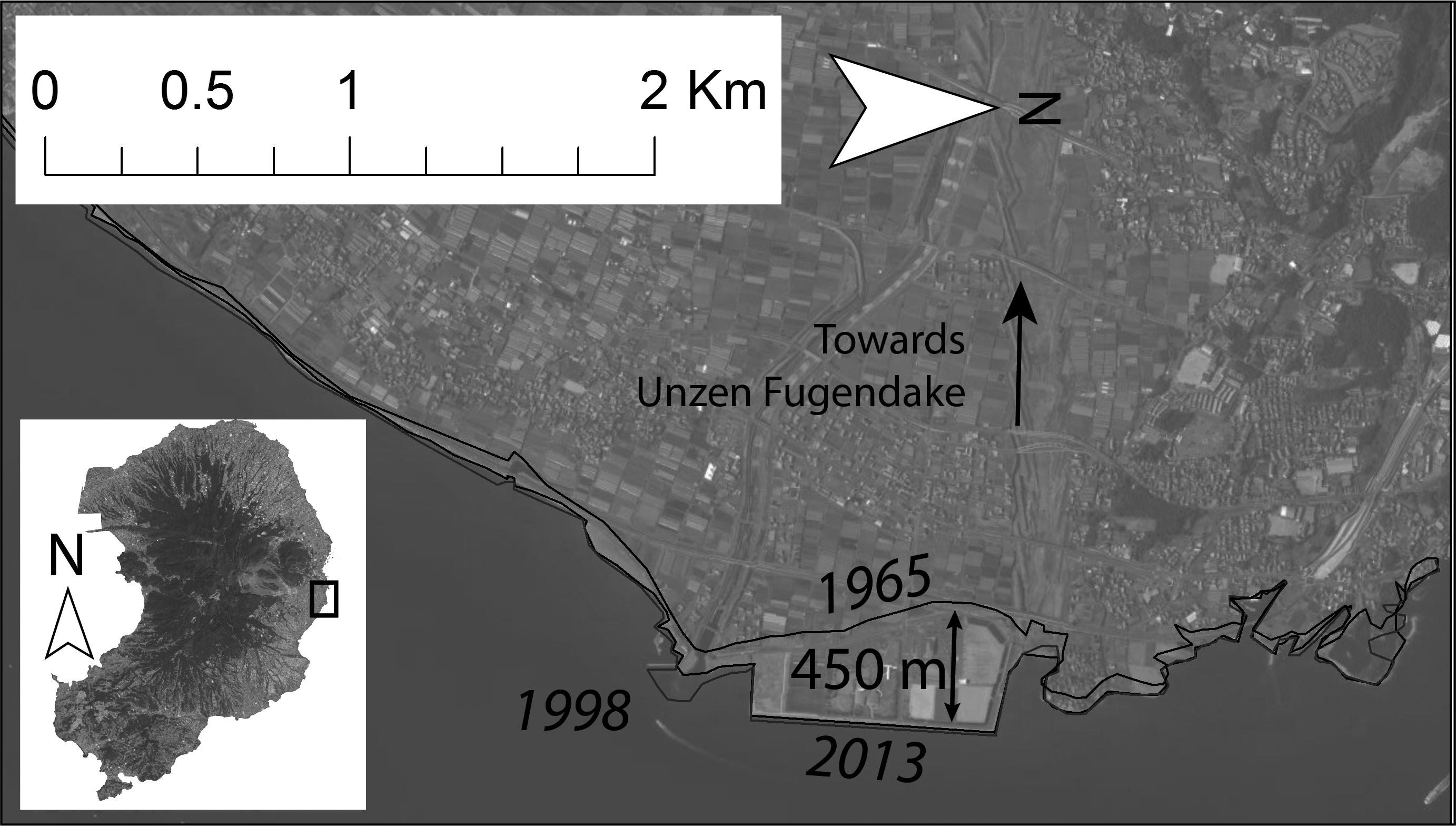 Evolution Of The Unzen Volcano And The Shimabara Peninsula
