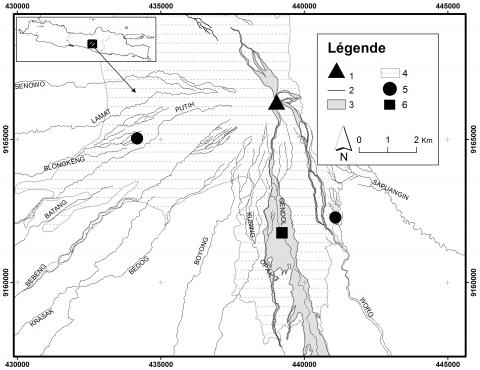 Fig. 1 - Mapa do sitio de estudo. Fig. 1 - Mapa do sitio de estudo.