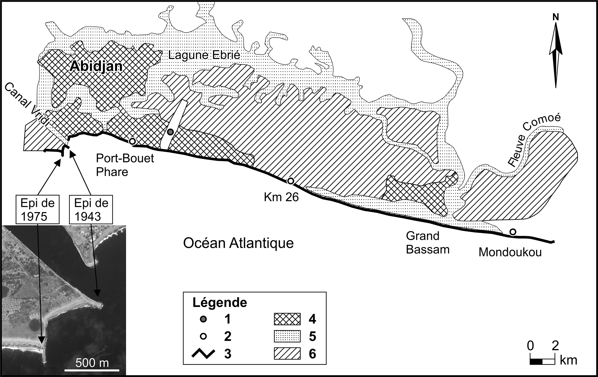 impacts des houles exceptionnelles sur le littoral ivoirien du golfe de guin e. Black Bedroom Furniture Sets. Home Design Ideas