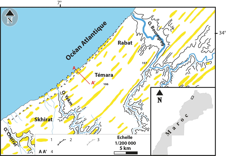 Nouvelles Données Morpho Stratigraphiques Et Géochronologiques Sur