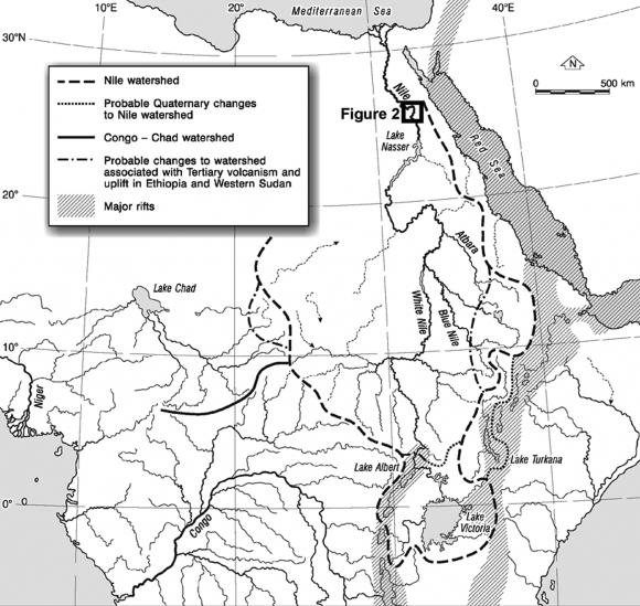 Carte Radar Corse.Nile River Evolution In Upper Egypt During The Holocene