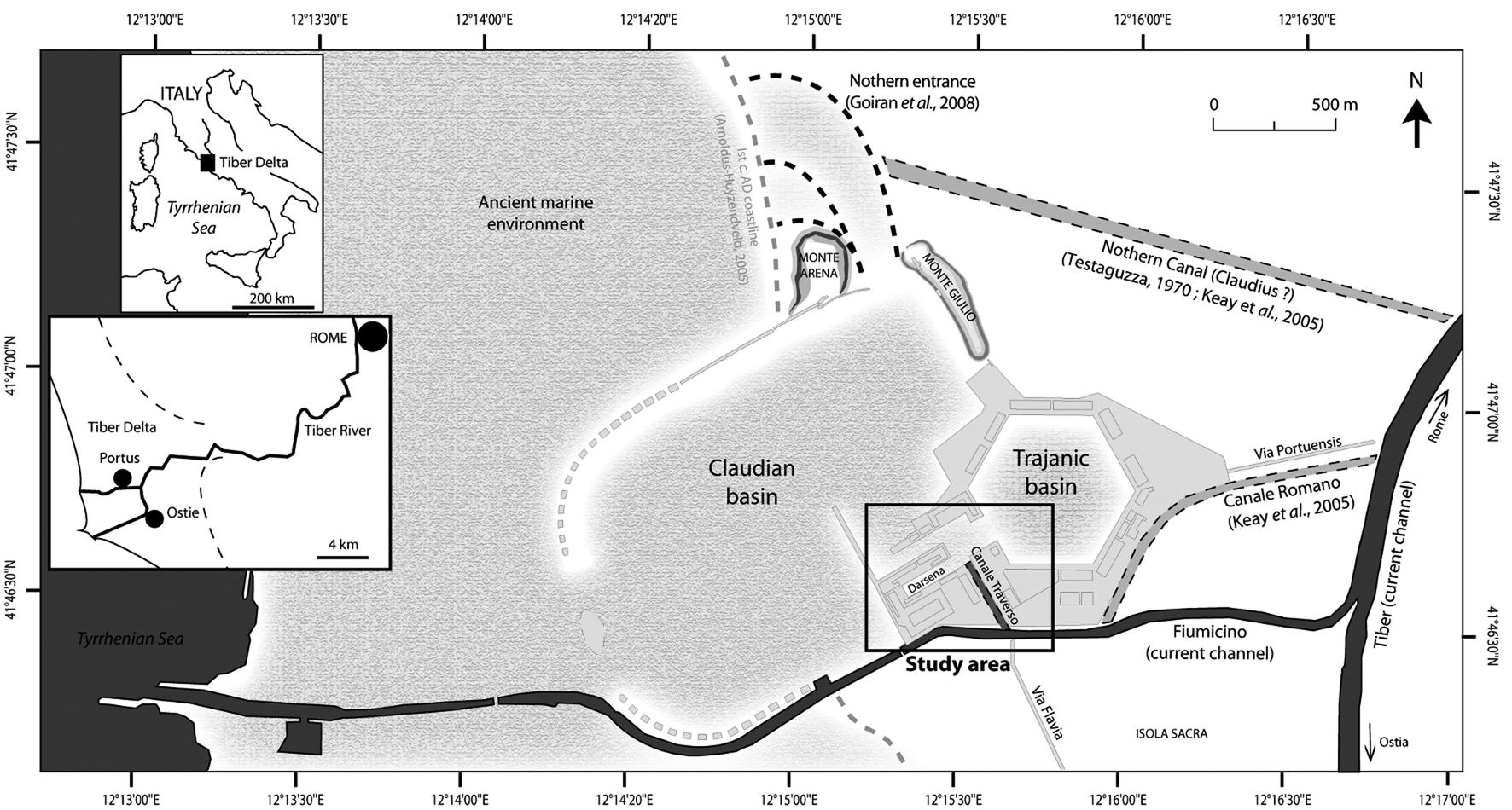 The Canale di Comunicazione Traverso in Portus: the Roman