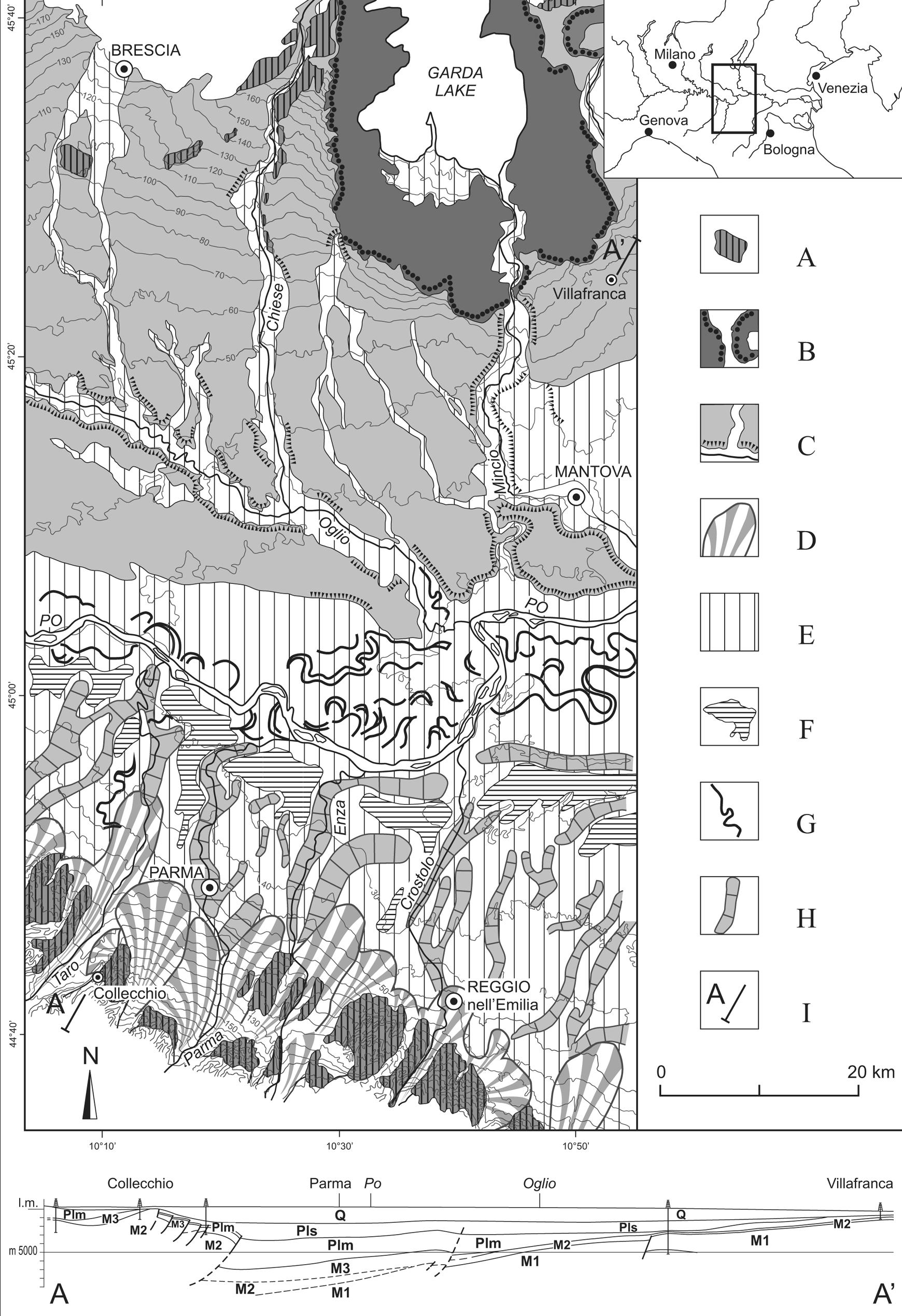 Separation Lame De Bois sub-boreal aggradation along the apennine margin of the