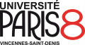 Logo Université Paris 8 Vincennes-Saint-Denis