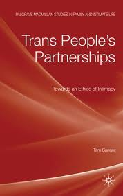 Couverture Trans people's partnerships
