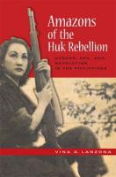 Couverture Amazons of the Huk Rebellion