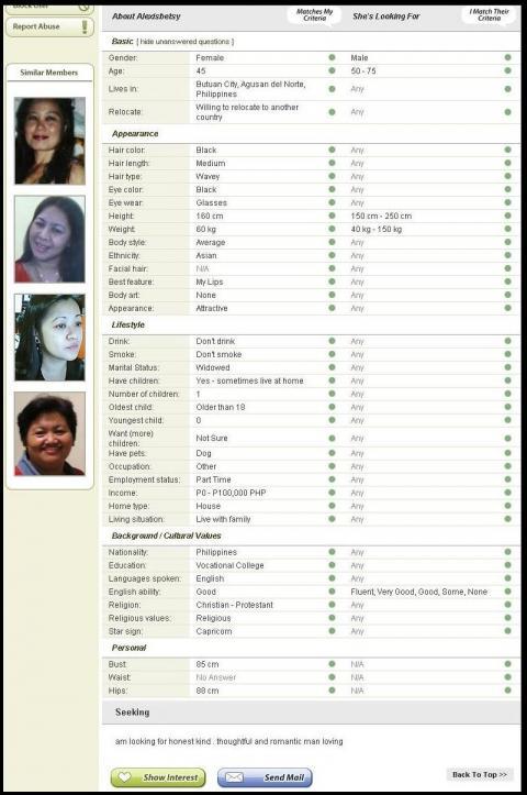 Filipina site de rencontres Canada rencontre quelqu'un vient de sortir de la relation à long terme