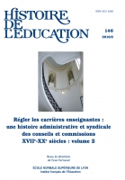 Histoire de l'éducation no 146