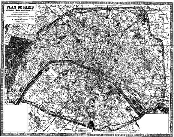 Figure 2 Le Plan DEdm Andriveau Goujon 1885
