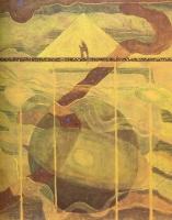 M. K. Čiurlionis, Andante (Sonate des étoiles), tempera sur papier, 1909, Musée National M. K. Čiurlionis, Kaunas, Lituanie
