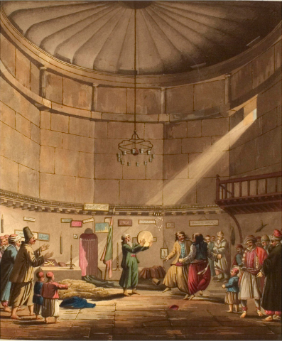 Edward Dodwell, The Dance of the Dervishes, Athens, 1821