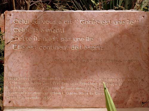 La fabrication du Patrimoine : l'exemple de Gorée (Sénégal)