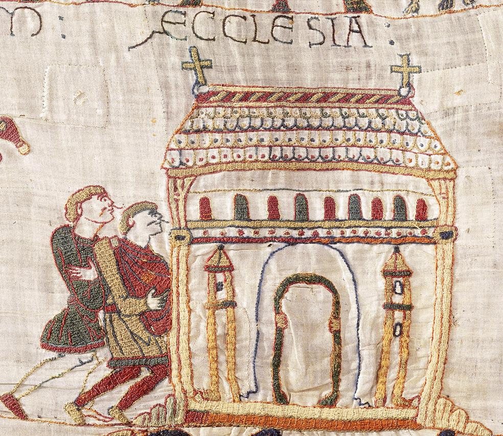 Les Chevaux De La Tapisserie De Bayeux