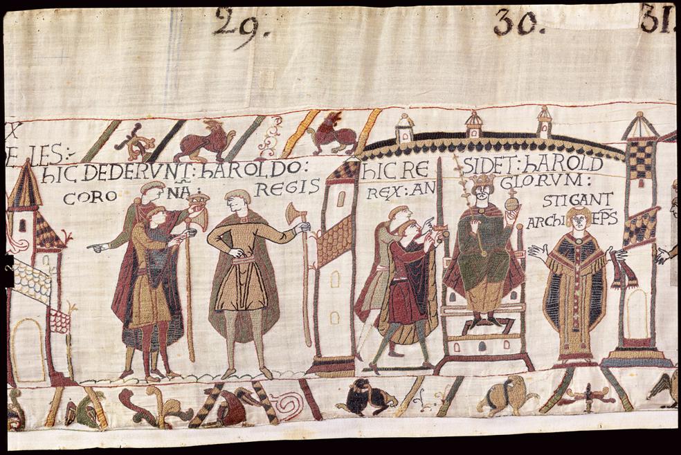 Les chevaux de la tapisserie de bayeux - Qu est ce que la tapisserie de bayeux ...