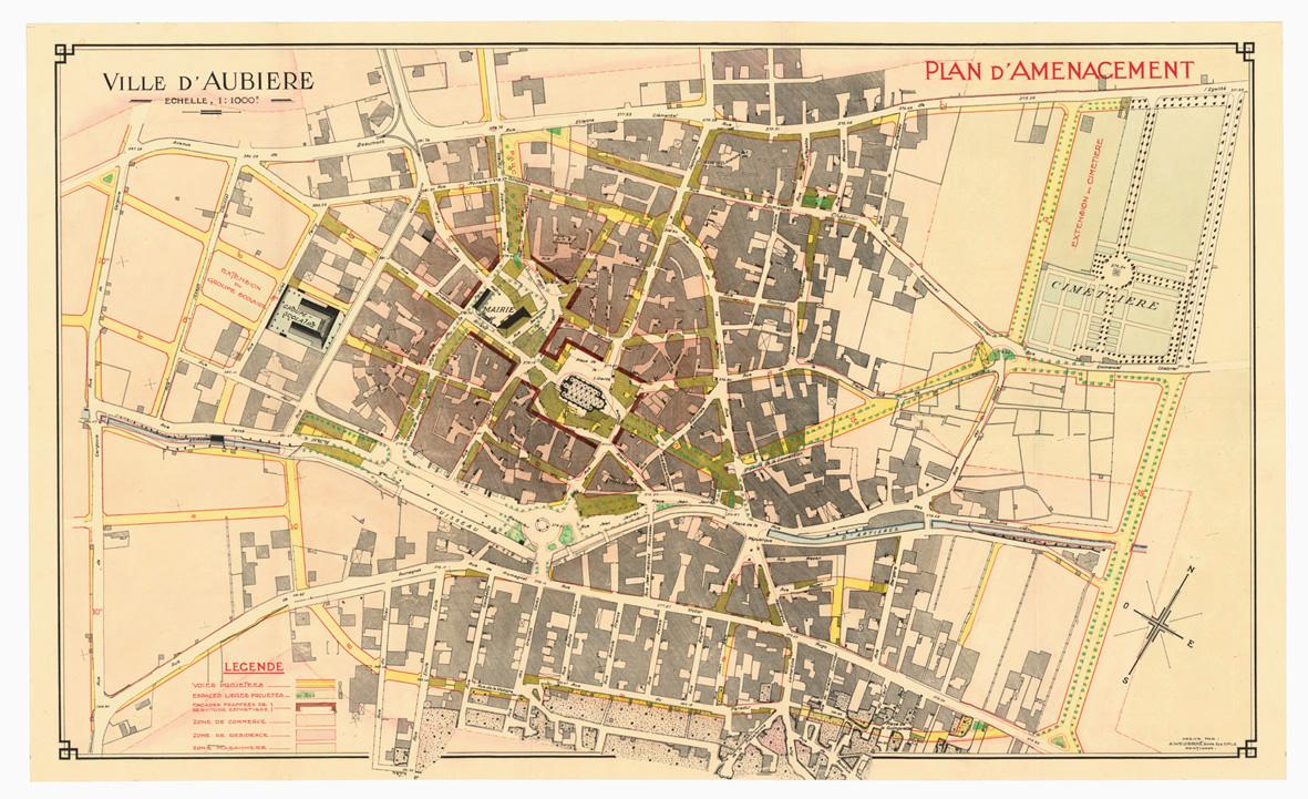 Placer la premi re loi de planification urbaine 1919 1924 for Plan de moulins