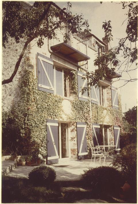 La maison atelier de foujita villiers le b cle for Atelier de la maison