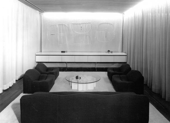 vitrine pour salon moderne