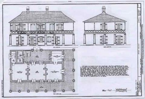 Maisons de ma tre et habitations coloniales dans les for Plan de maison ancienne
