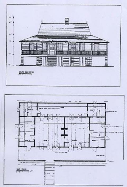 Maisons De Maître Et Habitations Coloniales Dans Les Anciens