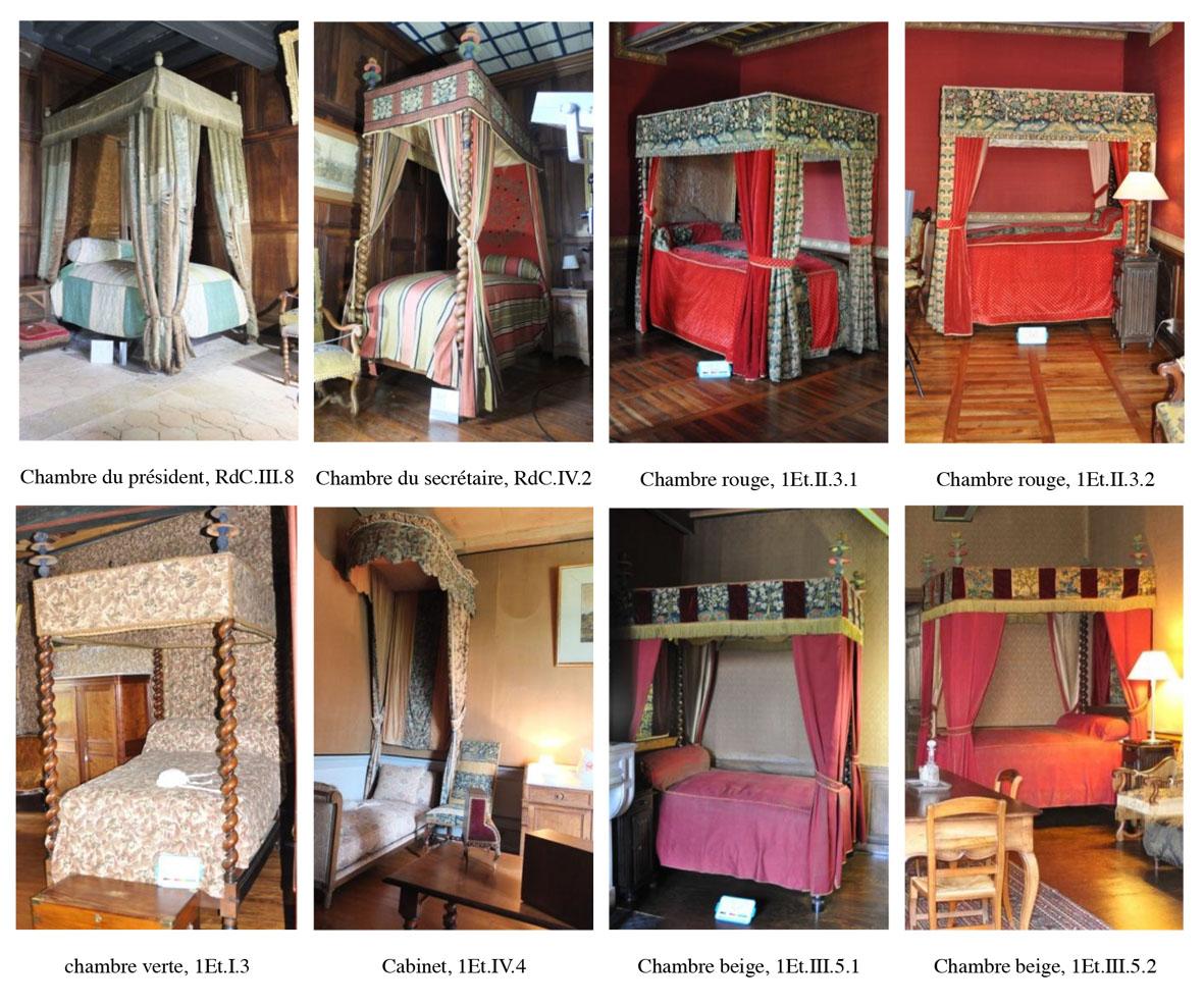 La restauration du lit de Montesquieu au château de La Brède ...