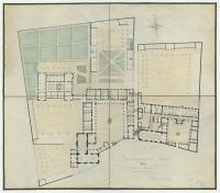 Plan du lycée impérial de Nantes