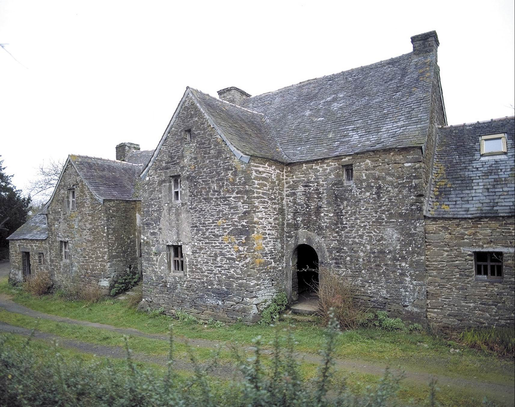 Les maisons avanc e en bretagne entre 1600 et 1900 essai de chronologie p - Maison traditionnelle de bretagne ...