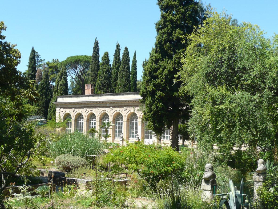 La renaissance du jardin des plantes de montpellier pass - Jardin suspendu brussels montpellier ...