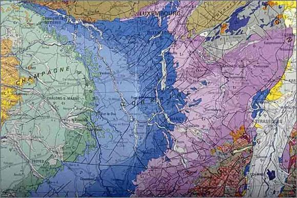 Carte Geologique Lorraine.La Pierre Dans L Architecture Rurale En Lorraine