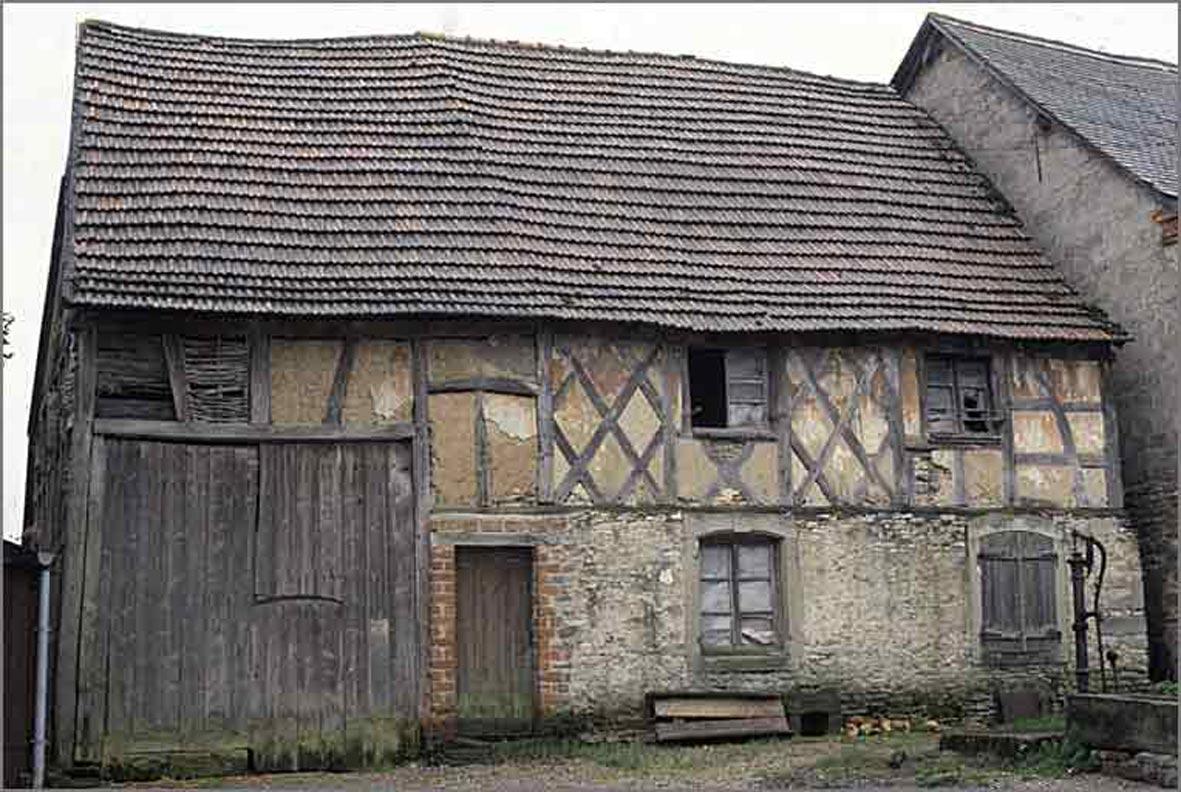 La pierre dans l 39 architecture rurale en lorraine - Maison en moellon ...