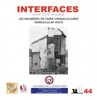 Couverture – Interfaces numéro 44
