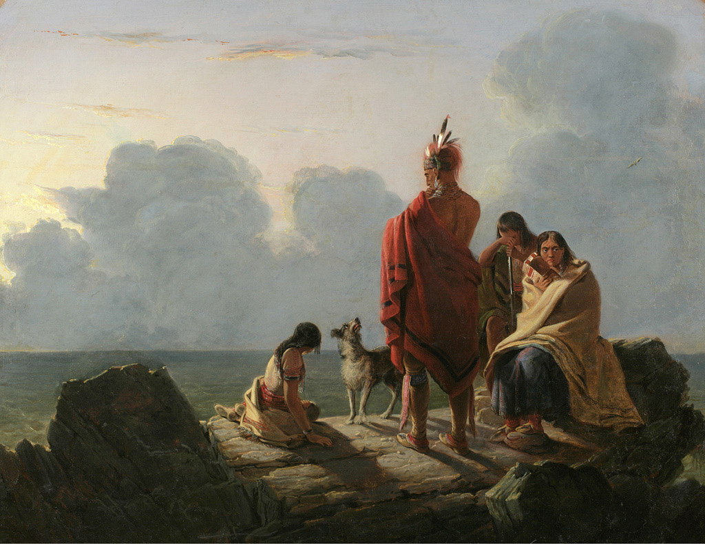 Text Image And The Discourse Of Disappearing Indians In Antebellum American Landscape Painting